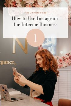 How to Use Instagram Account for Interior Business  From getting your account set up right to answering the ever-present question 'What should I post today?! Marketing Program, Marketing Tools, Online Marketing, Business Profile, Business Goals, Social Media Digital Marketing, Tag People, Post Today, Instagram Accounts