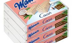 4 Stk. Manner Schnitten Cocos 4x75g – GuschOko Manners, Food, Chocolate, Essen, Meals, Yemek, Eten