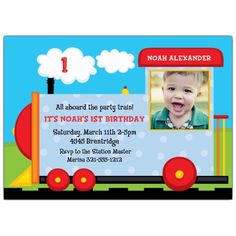 Free Printable Train Ticket Invitations Party Planning Pinterest