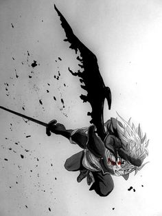 Manga Anime, Anime Demon, Anime Art, Violet Aesthetic, Black Clover Manga, Naruto Shippuden Anime, Creepy Art, Black Cover, Animes Wallpapers
