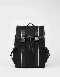 8cb3c0e076e3 Backpack with tab detail - Bershka