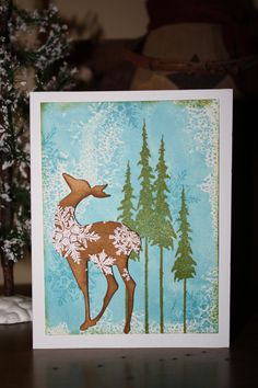 Hey, this is a lovely card!    A combination of a card and tag I found here on Pinterest.  The card inspiration is from howdyheidi from 2Peas and the tag inspiration is from Linda Coughlin - The Funkie Junkie.