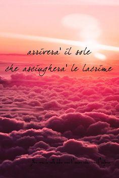 Nero come la notte dolce come l'amore caldo come l'inferno: Arriverà il sole che asciugherà le lacrime. L.B.©