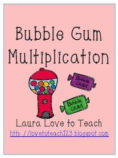FREE Bubble Gum Multiplication