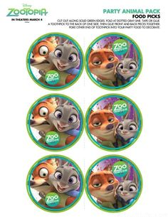Free Zootopia Party Pack and Holiday Downloads - My No-Guilt Life | My No-Guilt Life