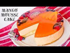 Mango Mousse Cake - Tatyanas Everyday Food