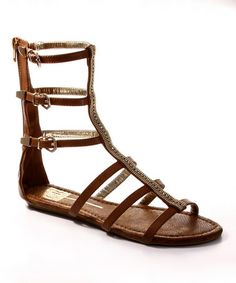 Look what I found on #zulily! Bronze Samantha Gladiator Sandal by Cape Robbin Collection #zulilyfinds $29.99, usually 55.00