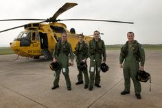 The final RAF crew to hold operational search and rescue standby commitment in the UK
