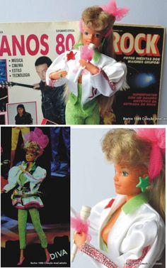 Barbie Diva Rock Star 1989 e Rock dos anos 80