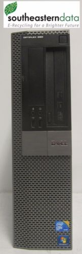 Dell Optiplex 980 Intel Core i7 @ 2.80GHz 8GB RAM 250GB HDD Win 7 Pro