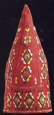 Tall Pointed Uzbek hat