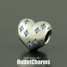 Authentic Genuine PANDORA Silver Cinderella's by OutletCharms