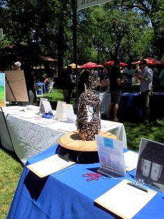 Howell Mountain Cup 2013, #napavalleymetal, #howellmountain, #winedisplay, #art #napa