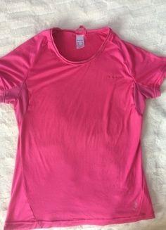 Kup mój przedmiot na #vintedpl http://www.vinted.pl/damska-odziez/odziez-sportowa/14424518-rozowa-koszulka-do-cwiczen