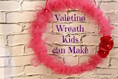 How to Make Valentine Wreaths Kids Can Make