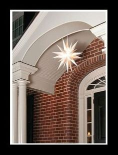 21″ CHRISTMAS LIGHTED MORAVIAN STAR INDOOR/OUTDOOR DECORATION: Christmas Gifts