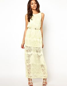 Image 4 ofRiver Island Lace Maxi Dress