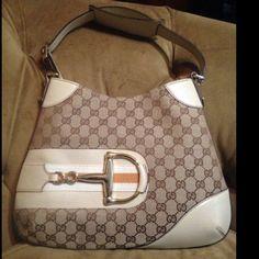 "Spotted while shopping on Poshmark: ""Brand New Gucci Beige & Classic GG Print Handbag""! #poshmark #fashion #shopping #style #Gucci #Handbags"
