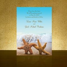Captivating Beach Wedding Invitations