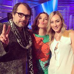 #BarbaraDUrso Barbara D'Urso: E dalla puntata di domenica.. La foto con Yari e Cristel Carrisi!! #DomenicaLive #pomeriggio5 #Mediaset #tv #Albano #musica #backstage #pictoftheday #instagood #instamood #fratelli