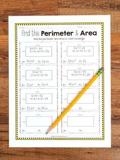Teaching area and perimeter math Education Quotes For Teachers, Quotes For Students, Quotes For Kids, Area And Perimeter Worksheets, Maths Area, 4th Grade Math, Third Grade, Grade 3, Student Motivation
