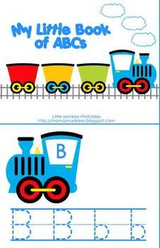 Train Preschool Pack includes a wide variety of skills and Thomas!... and it's free!!