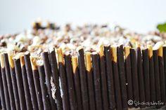 SchokoladenFee: Kirsch-Mikado-Kuchen