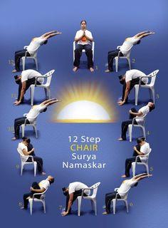 25 best chair yoga images  chair yoga yoga yoga for seniors