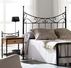 Tête de lit en fer forgé modèle CÔNE. Décoration Beltran, votre magasin de têtes de lit sur línternet.