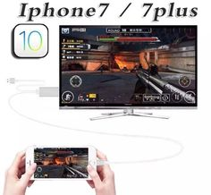 AV hdtv adapter for iphone 7 plus 6s 6 SE 5S 5 ios 10 hdmi CABLE MHL