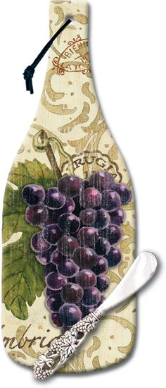 CounterArt Glass Wine Bottle Cheese Servers #hostess #wine