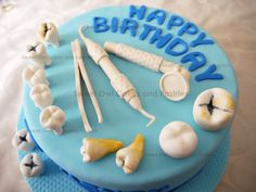 41 Best Dentist Cakes Images On Pinterest