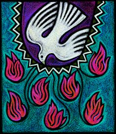 pentecost holy spirit tongues of fire
