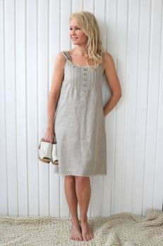 HANKO Linen Dress, Choose color