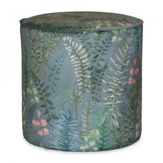 Taburet rotund multicolor din catifea si MDF 34 cm Gabriel Opjet Paris Gabriel, Vase, Paris, Living, Home Decor, Blue Velvet, Light Blue, Color Blue, Round Ottoman