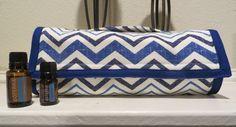 Essential Oils Bag/ Travel Bag/ Storage Bag/ Hold up to 18 Oils by CreativeStitchesForU on Etsy