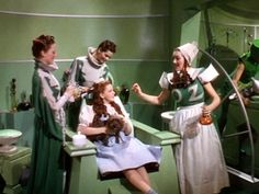 That's how we start the day a way in the merry old land of Oz