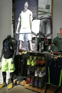 Inside Under Armour's store in SoHo. [Photo by Kyle Ericksen]
