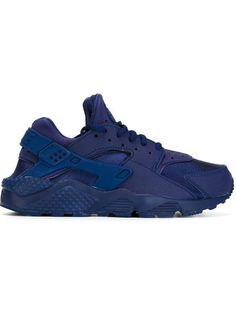 low priced 78811 52a0d Nike Air Huarache Run Sneakers - Farfetch. Blue SneakersBlue ShoesLeather  ...