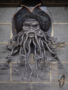 Caribbean Art, Pirates Of The Caribbean, Organ Music, Welding Art Projects, Davy Jones, Scrap Metal Art, Dead Man, Kraken, End Of The World