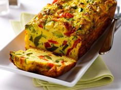 Did you know Silk® has a ton of recipes, like this Omelette aux légumes en terrine? Dairy Free Recipes, Egg Recipes, Cooking Recipes, Omelette Legume, Almond Milk Recipes, Good Food, Yummy Food, Omelettes, Hungarian Recipes