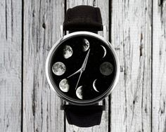 Moon Phase Watch - Cosmic Accessories So Divine You'll Love Them To the Moon and Back - Photos