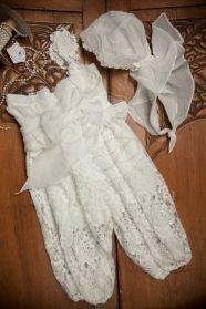 Μένη Ρογκότη - Βαπτιστικά ρούχα για κορίτσι της Cat in the hat σαλβάρι Diana