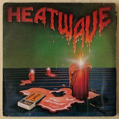 Heatwave 'Candles' (1980) Art Direction by Tom Drennon Design. Illustration by Steve Wright.