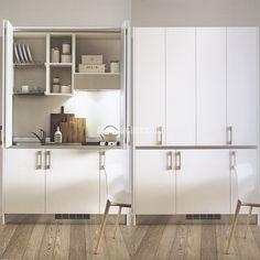 Cucine salvaspazio kitchens - Armadio cucina monoblocco ...