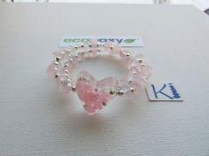 Your place to buy and sell all things handmade Heart Bracelet, Bracelets, Anklets, Rose Quartz, Delicate, Wire, Crystals, Handmade, Stuff To Buy
