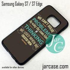 Albert Einstein Phone Case for Samsung Galaxy S7 & S7 Edge