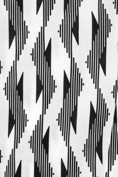 Textiles + Print Making Geometric Patterns, Graphic Patterns, White Patterns, Color Patterns, Print Patterns, Geometric Prints, Motifs Textiles, Textile Patterns, Design Textile