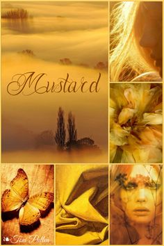 Moodboard - By: Toni Color Trends, Color Combos, Paint Color Schemes, Color Collage, Collages, Mellow Yellow, Mustard Yellow, Color Balance, Design Seeds