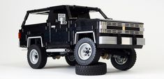 LEGO Chevrolet K5 Blazer Silverado V8 1984 by Team Enthusiast. Team Enthusiast consist of Alexandr, Artem, Nikolay (me). This iconic SUV originaly...